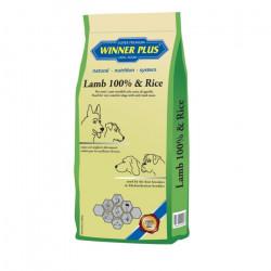 Winner Plus Adult Lamb 100% & Rice 3kg - Ξηρά τροφή σκύλου
