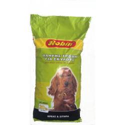 Σκυλοτροφή Robin 20kg