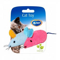Παιχνίδι γάτας ποντίκια 2τεμ 6x5x3cm