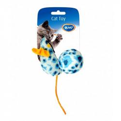Παιχνίδι γάτας ποντίκι & μπάλα 10x4x4cm