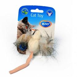 Παιχνίδι γάτας φυσικό ποντίκι με χνουδωτά αυτιά