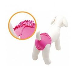Βρακάκι σκύλου Camon Lovely pet pants size xs 30-35cm Ρόζ
