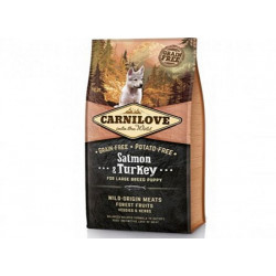 Carnilove Large Breed Puppy Salmon & Turkey 12kg