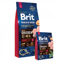 Brit Premium By Nature Adult Large 15kg