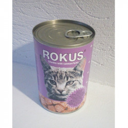 Rokus κονσέρβα γάτας ψάρι 410gr