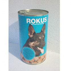 Rokus κονσέρβα σκύλου γαλοπούλα - πάπια 1250gr