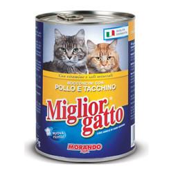 Miglior Gatto Πατέ Γάτας Κοτόπουλο-Γαλοπούλα 400gr.