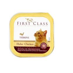 First Class Γάτας  κοτόπουλο 100gr