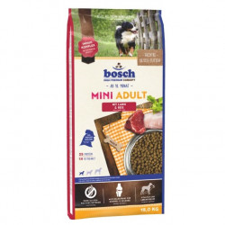 Bosch Petfood Concepts Mini Adult Lamb & rice 15kg