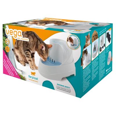 FerPlast Αυτόματη ποτίστρα συντριβάνι για γάτες & σκύλους