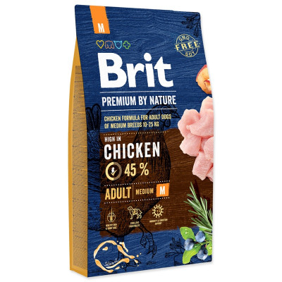 Brit Premium By Nature Adult Medium 15kg