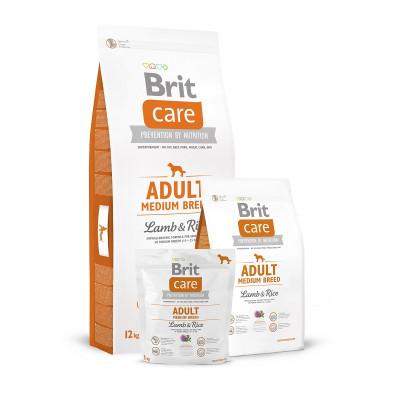 Brit Care Adult Medium Lamb & Rice 3kg