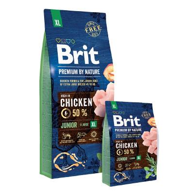Brit Premium By Nature Junior Extra Large 15kg