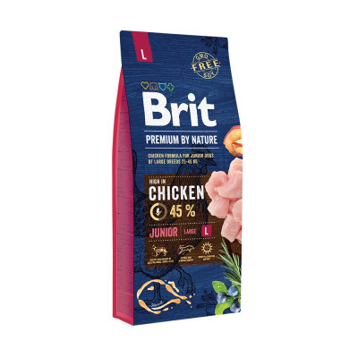 Brit Premium By Nature Junior Large 15kg